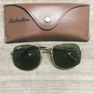 Vintage ray bans collaboration with balentino